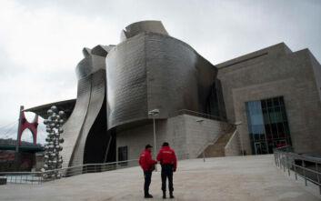 H Ισπανία βγαίνει από το lockdown: Το μουσείο Γκούγκενχαϊμ άνοιξε τις πόρτες του για το κοινό