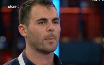 MasterChef 4: Αποχώρησε ο Δημήτρης Μπέλλος από τον διαγωνισμό
