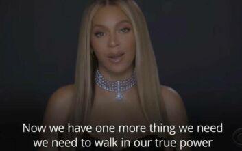 Δυνατό αντιρατσιστικό μήνυμα από την Beyonce:  Συνεχίστε να είστε η αλλαγή που θέλετε να δείτε