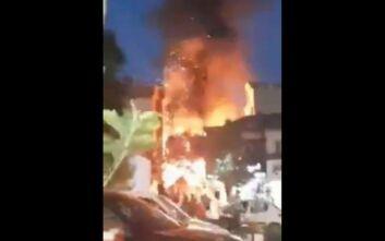 Συναγερμός από έκρηξη στην Τεχεράνη – Πληροφορίες για μεγάλη φωτιά σε κλινική