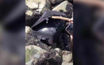 Νεαροί γύριζαν βίντεο στο Tik Tok για χαβαλέ όταν ανακάλυψαν βαλίτσα με κομμάτια ανθρώπινου σώματος