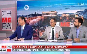 Άγρια κόντρα Γεωργιάδη με δημοσιογράφο: «Είσαι άσχετος, να πας φροντιστήριο» - «Δεν είμαστε παιδάκια να μας κοροϊδεύετε»