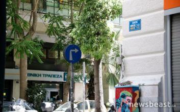 Το παράδοξο με το σήμα στο κέντρο της Αθήνας