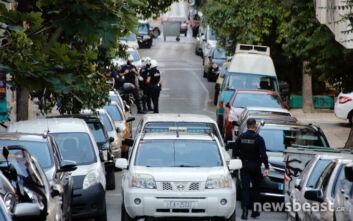 Οι πρώτες εικόνες από την αστυνομική επιχείρηση στα Εξάρχεια