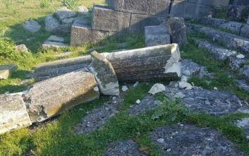 Αλβανία: Βανδαλισμοί στο Νυμφαίο της αρχαιοελληνικής Απολλωνίας