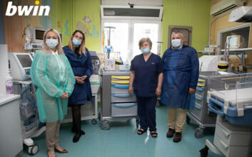 Η bwin στηρίζει το έργο των Ιατρών και του Νοσηλευτικού προσωπικού στο Νοσοκομείο Παίδων Π. & Α. Κυριακού