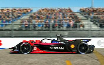 H Nissan κέρδισε τον τελικό γύρο του «Race at Home Challenge»