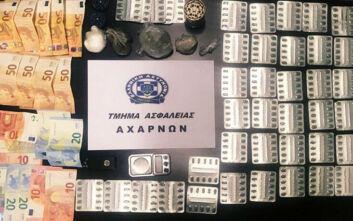 Είχαν στήσει αγορά ναρκωτικών σε σπίτια και παραπήγματα στην Αγία Σωτήρα Αχαρνών