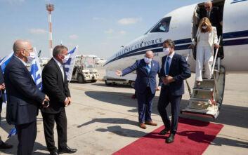 Συναντήσεις του Κυριάκου Μητσοτάκη με Ισραηλινούς επενδυτές και τον αναπληρωτή πρωθυπουργό και υπουργό Άμυνας
