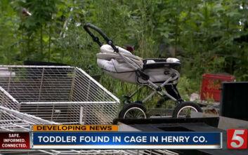 Φρίκη στις ΗΠΑ: Αγοράκι 1,5 ετών βρέθηκε κλειδωμένο σε κλουβί με ακαθαρσίες ζώων