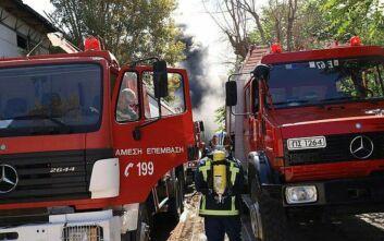 Πανικός από πυρκαγιά στον Άλιμο - Εκκενώθηκε πολυκατοικία
