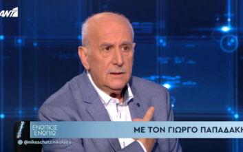 Ο Γιώργος Παπαδάκης για το σοβαρό επεισόδιο Κανέλλη – Κασιδιάρη: Δεν ήξερα πώς να αντιδράσω