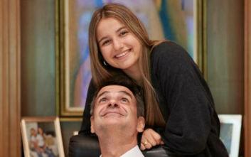 Η φωτογραφία του πρωθυπουργού Κυριάκου Μητσοτάκη για τα γενέθλια της κόρης του