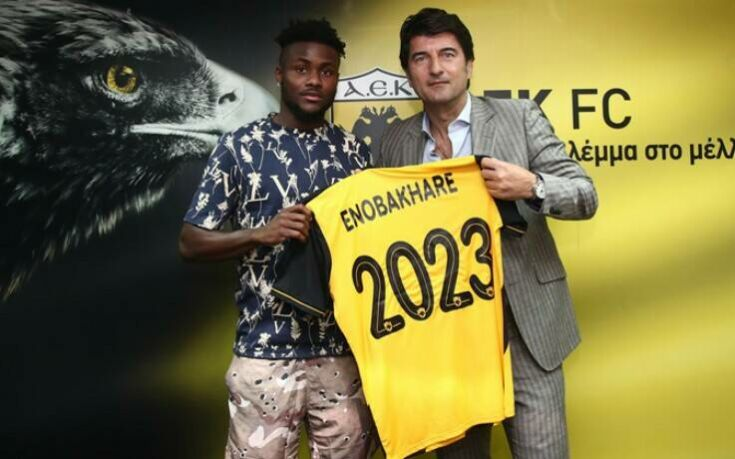 Η ΑΕΚ ανακοίνωσε τον Ενομπακάρε ως το 2023