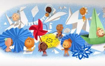 Παγκόσμια Ημέρα του Παιδιού 2020: Tο doodle της Google τιμά τα παιδιά όλου του κόσμου