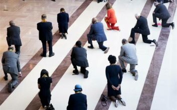 ΗΠΑ: Οι Δημοκρατικοί τήρησαν σιγή οκτώ λεπτών και 46 δευτερολέπτων στη μνήμη του Τζορτζ Φλόιντ