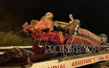 Σοκαριστικό τροχαίο στη Εγνατία Οδό με έναν νεκρό και 7 τραυματίες