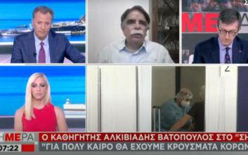 Βατόπουλος: Ο ιός θα επανακάμψει, αλλά δεν θα έχουμε την κατάσταση του Μαρτίου