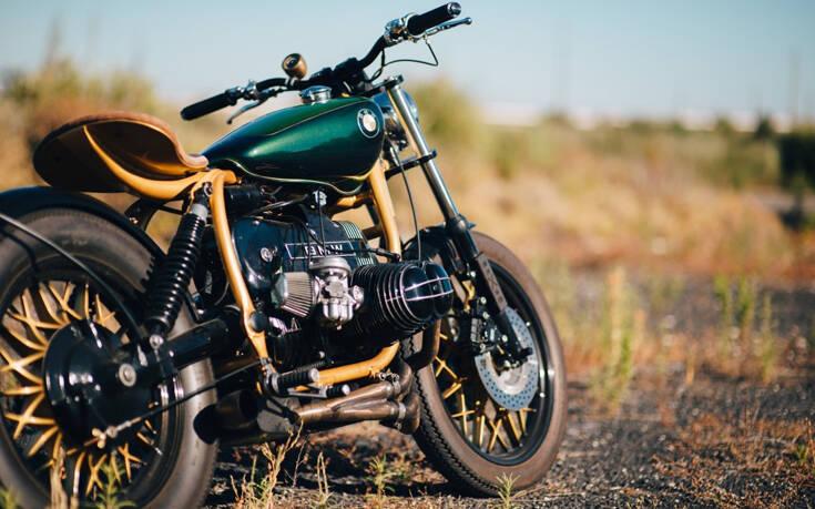 Μια ανακατασκευασμένη BMW σε πράσινο και χρυσό – Newsbeast