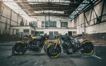 Η Moose Motodesign σε δυο εκπληκτικές εκδοχές της Virago