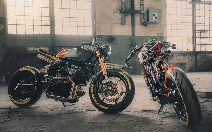 Η Moose Motodesign σε δυο εκπληκτικές εκδοχές της Virago – Newsbeast
