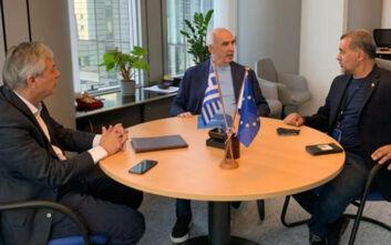 Συνάντηση Μεϊμαράκη με ευρωβουλευτές Κύπρου: Στο επίκεντρο η τουρκική προκλητικότητα
