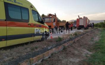 Πέλλα: Πατέρας δύο παιδιών εκσφενδονίστηκε από το αυτοκίνητο και βρέθηκε νεκρός σε αρδευτικό κανάλι