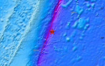 Ισχυρός σεισμός στα νησιά Κέρμαντεκ της Νέας Ζηλανδίας