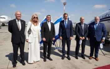Δείπνο σε όλη την οικογένεια Μητσοτάκη θα παραθέσει ο πρωθυπουργός του Ισραήλ