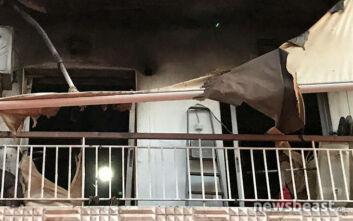 Έσβησε η φωτιά σε διαμέρισμα στο Γαλάτσι - Οι πρώτες εικόνες