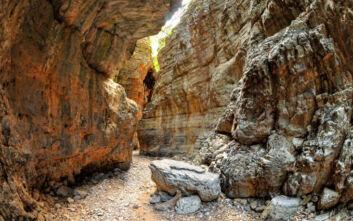 Το φαράγγι της Κρήτης που στέκεται στον αντίποδα εκείνου της Σαμαριάς