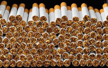 Περισσότερα από 150.000 λαθραία πακέτα τσιγάρα κατασχέθηκαν στη Θεσσαλονίκη