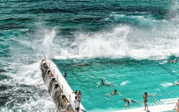 Η πιο πολυφωτογραφημένη πισίνα στον κόσμο δεν ανήκει σε πολυτελές ξενοδοχείο