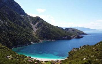 Η μαγική παραλία στην Εύβοια με θέα στο Αιγαίο