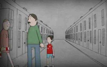 Το συγκινητικό βίντεο με το παιδί που γίνεται πατέρας και βλέπει τη Λίβερπουλ πρωταθλήτρια