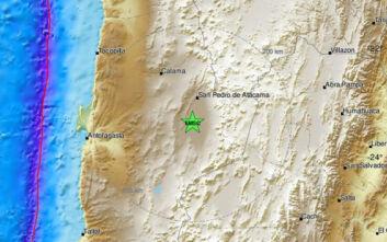 Πολύ ισχυρός σεισμός τώρα στη Χιλή