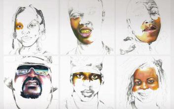 «Stolen», τα ημιτελή πορτρέτα μαύρων που σκότωσε η αστυνομία και ο συμβολισμός του χρωματισμού