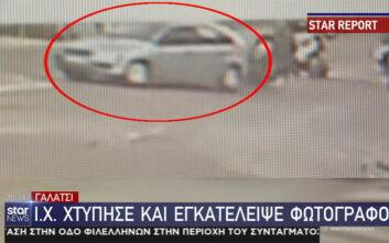 Οδηγός χτύπησε τον φωτογράφο Γιώργο Καραγιωργάκη στο Γαλάτσι και τον εγκατέλειψε