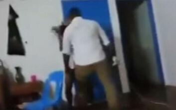 Σοκαριστικό βίντεο με την κακοποίηση αθλήτριας του ράγκμπι από τον σύντροφό της