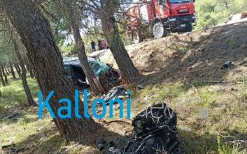 Σοκαριστικό τροχαίο στη Λέσβο: Νεκρή μία μητέρα δύο παιδιών