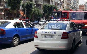 Θεσσαλονίκη: Σε γυναίκα ανήκει το καμένο πτώμα - Οι πρώτες εικόνες από το σημείο