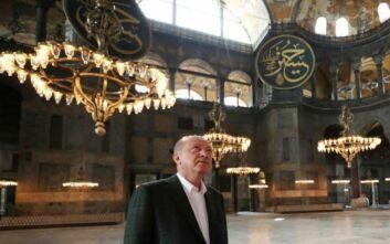 Αγιά Σοφιά: Ανοιχτή όλο το 24ωρο με εντολή... Ερντογάν