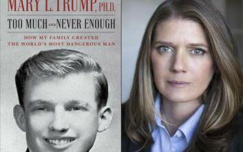Νωρίτερα από το αναμενόμενο θα κυκλοφορήσει το βιβλίο της ανιψιάς του Τραμπ