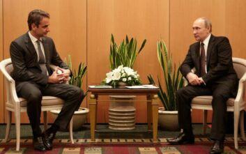 Τι είπαν Μητσοτάκης-Πούτιν στην τηλεφωνική τους επικοινωνία για την Αγία Σοφία