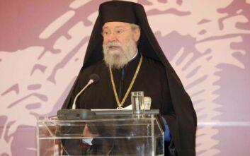 Αρχιεπίσκοπος Κύπρου: Ακόμη και το ροχαλητό του Βαρθολομαίου ενοχλεί τους Τούρκους
