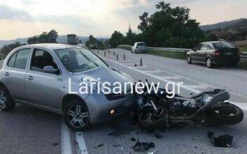 Νεκρός σε τροχαίο 32χρονος οδηγός μηχανής στη Λάρισα