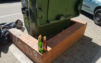 Εμπρηστικοί μηχανισμοί, μολότοφ και στυλάρια βρέθηκαν έξω από το γήπεδο της ΑΕΚ