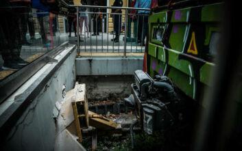 Κηφισιά: Οι πρώτες εικόνες από το ατύχημα με συρμό του ΗΣΑΠ