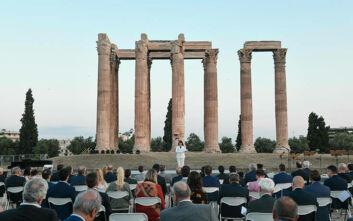 Λαμπρή εκδήλωση με φόντο τον Ναό του Ολυμπίου Διός για την ελληνική προεδρία του Συμβουλίου της Ευρώπης