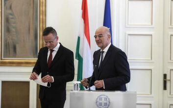Τα ελληνοτουρκικά βρέθηκαν στο επίκεντρο της συζήτησης Δένδια με τον Ούγγρο υπουργό Εξωτερικών